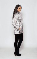 Womens Lightweight Travel Floral Print Jacket db3127